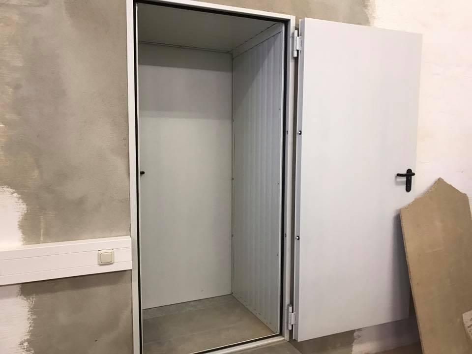 Durchgangstür oder Doppelte Tür