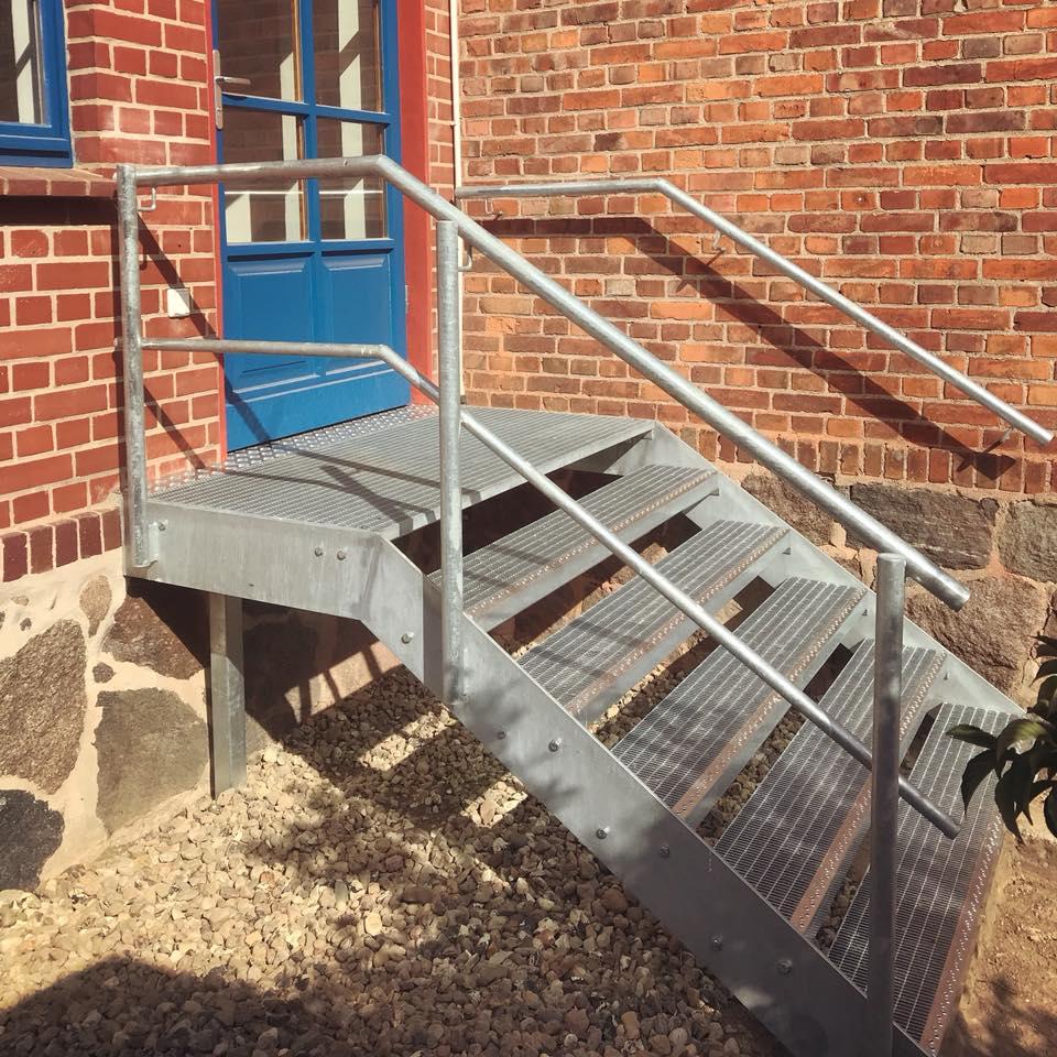 Treppenkonstruktion Metallbau