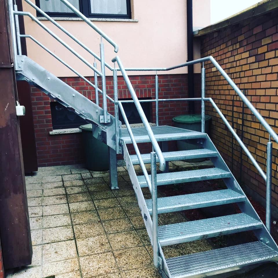 Metallkonstruktion Geländer Kunkel Metall