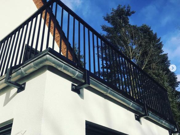 Terrassengeländer aus Metall