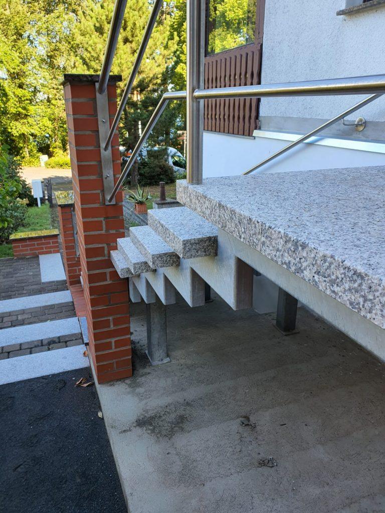 Treppenkonstruktion Neubrandenburg kunkelmetall