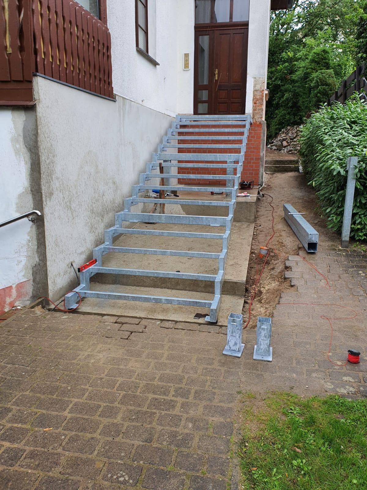 Treppenkonstruktion kunkel metall