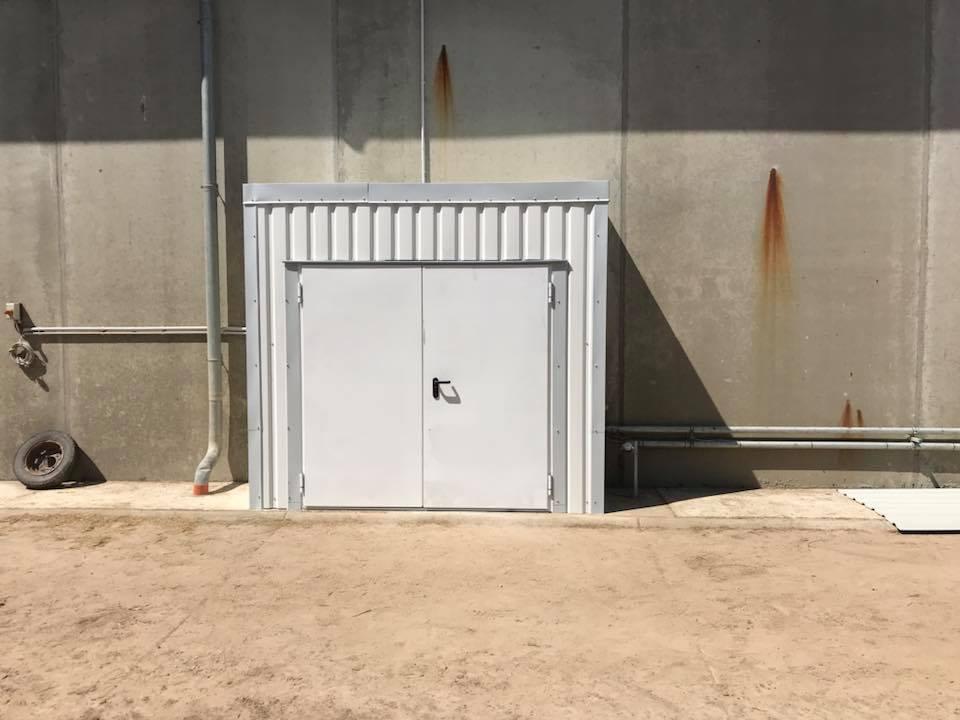 Brandschutztür Kunkel metall