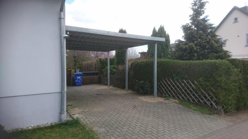 Carport Metallbau