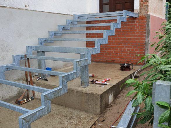 Treppenkonstruktion Neubrandenburg Teil1