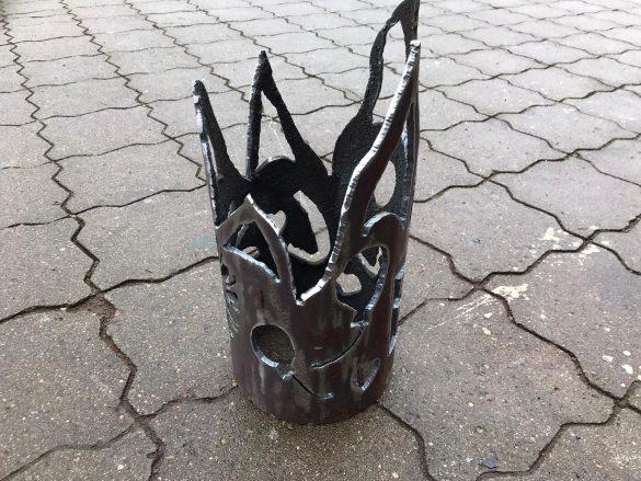 Kunstvolle Feuerschale